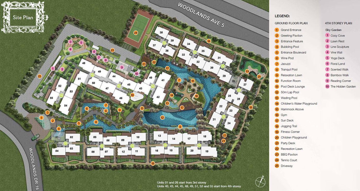 Forestville EC Site Plan & Facilities