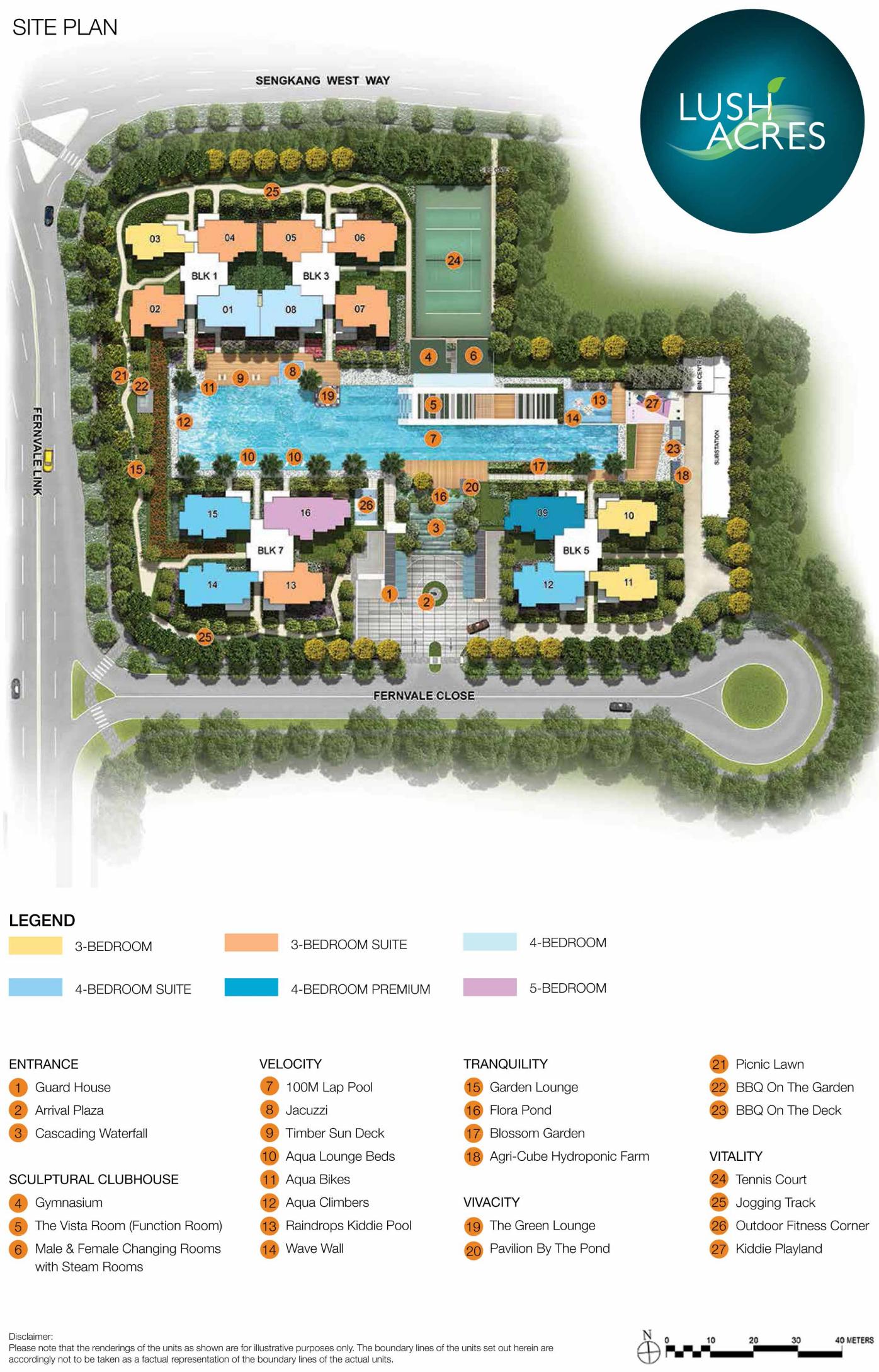 Lush Acres EC Site & Facilities Plan